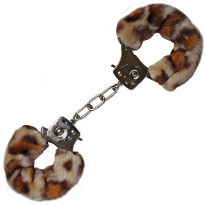 Xειροπέδες Love Cuffs Leopard Plush
