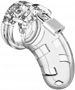 Mancage Chastity 3.5in Transparent Model 01