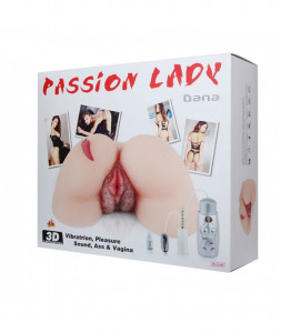 Passion Lady Dana with vibratrion and sound