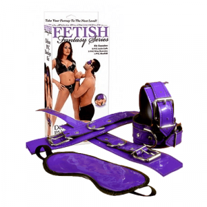 Fetish Fantasy Deluxe PVC Bondage Kit